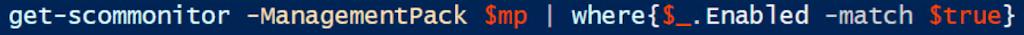 scom powershell module