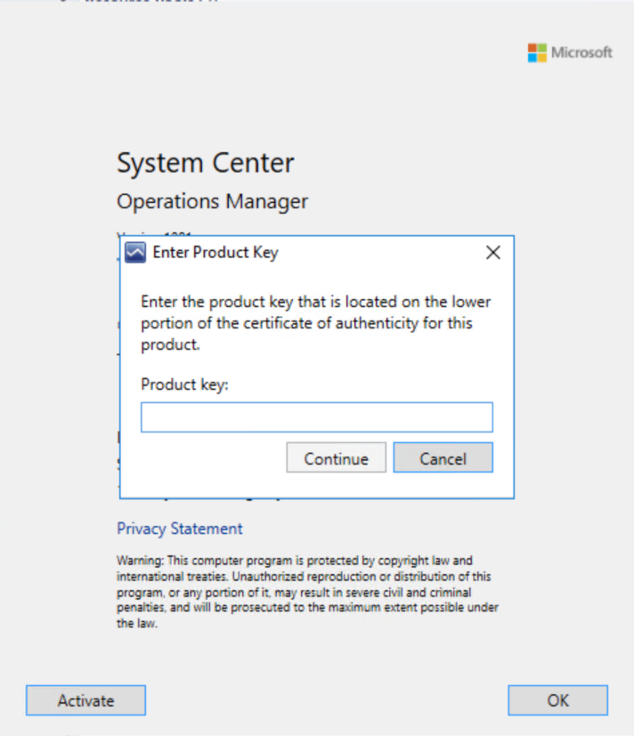 Upgrade SCOM 2016 to 1801 - System Center Automation