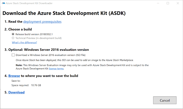 azure stack dev kit