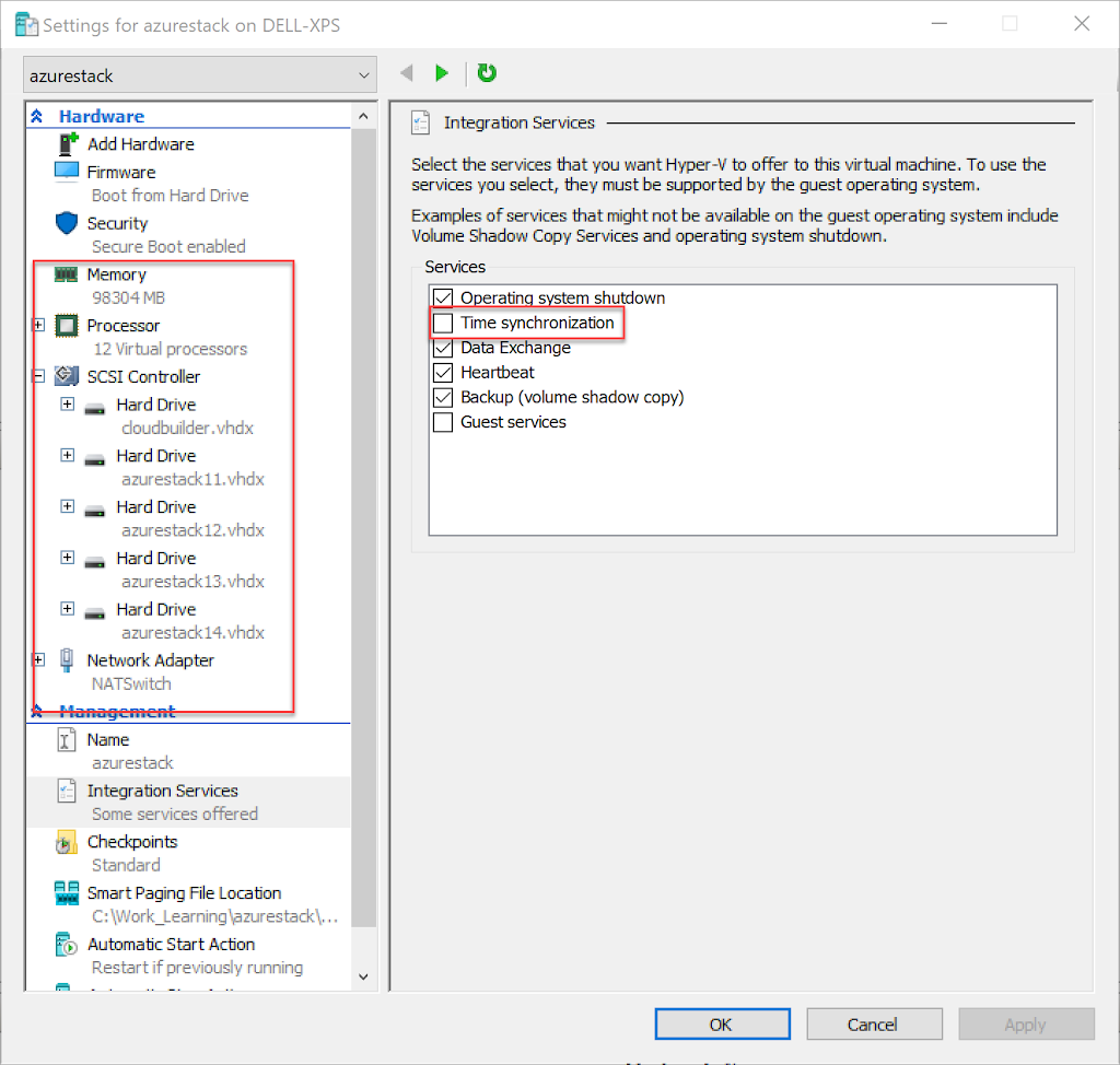 Installing Azure Stack Development Kit on Hyper-V VM