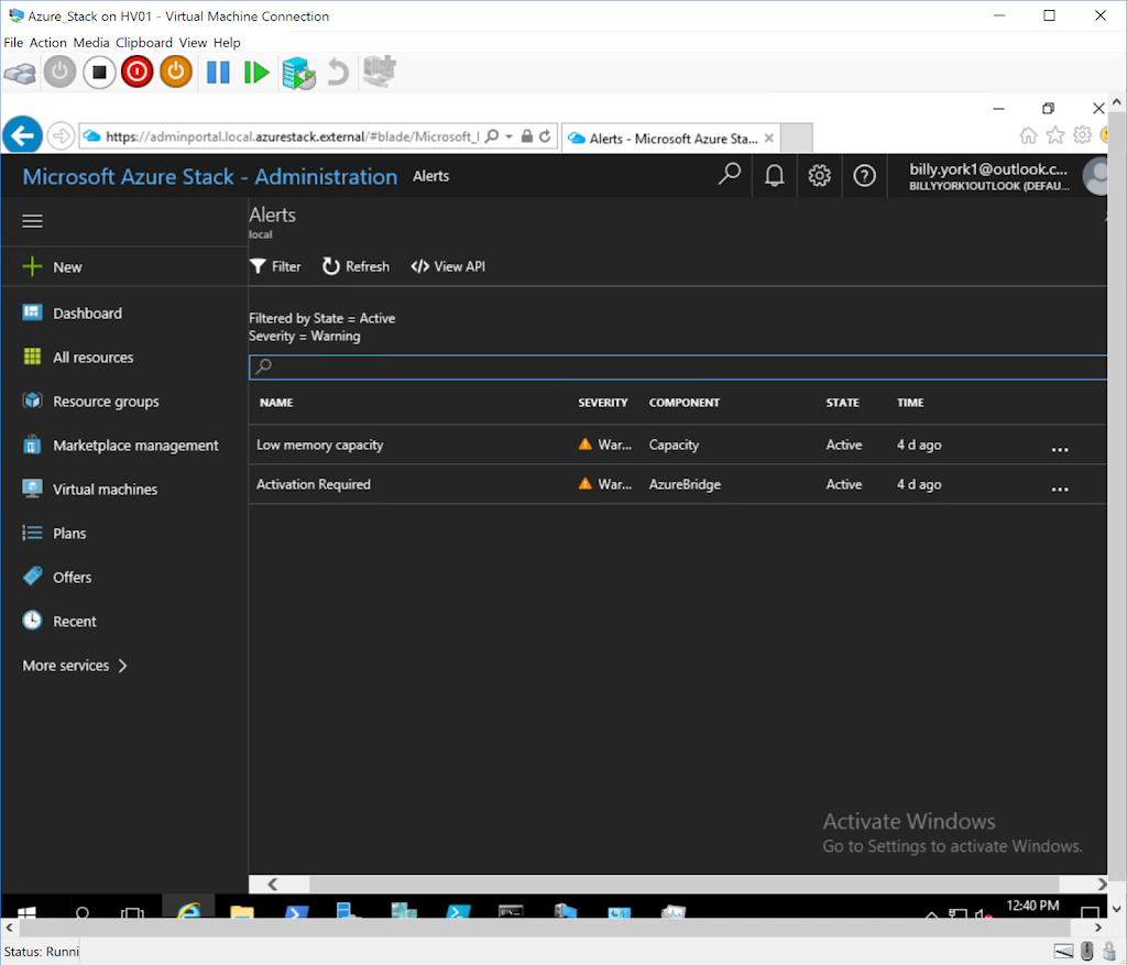 azure stack development kit hyper-v