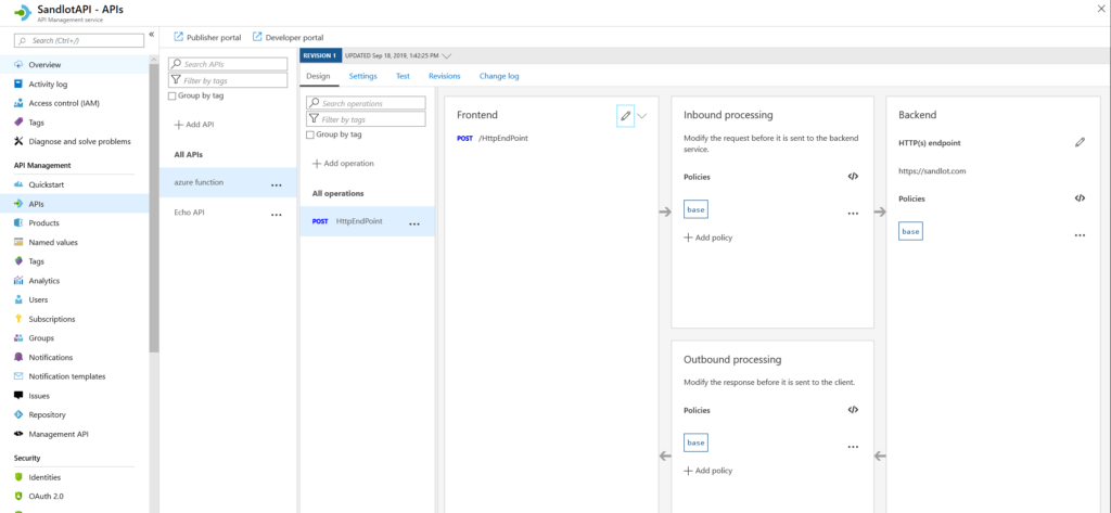 azure api management powershell