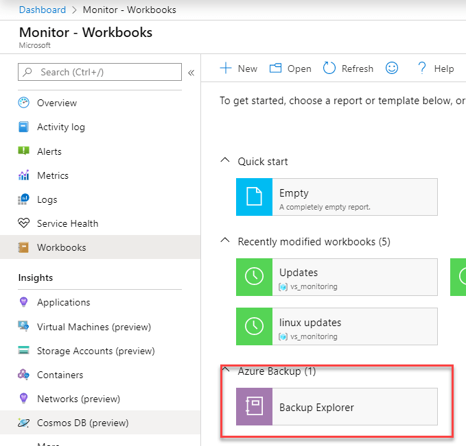 Breaking Changes Azure Monitor