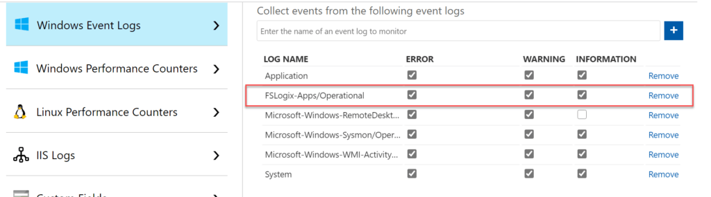 Collect FSLogix Event Log