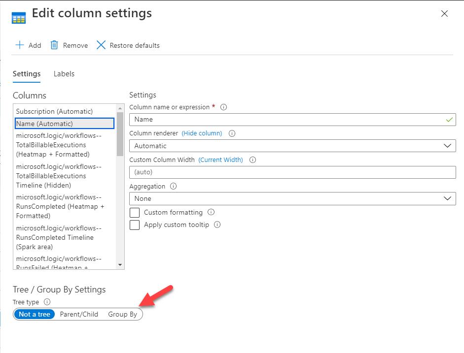 Grouping Azure Monitor Workbooks